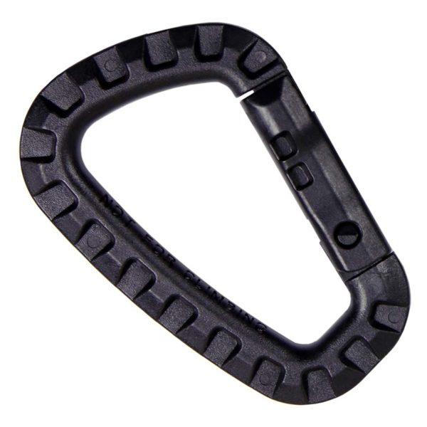 moschettone plastica militare 101inc nero