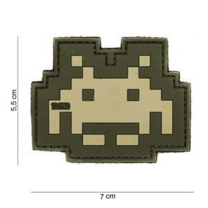 PATCH PVC SPACE INVADER 101INC