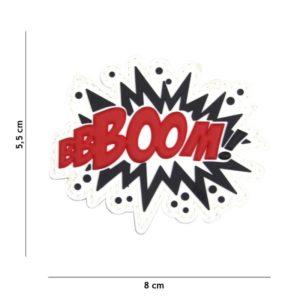 PATCH PVC BOOM! 3D 101INC