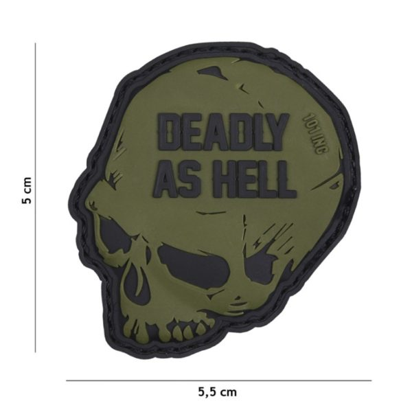 PATCH PVC DEADLY AS HELL